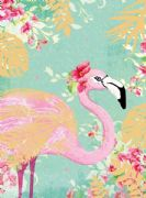 Pack of 10 Flamingo Notecards